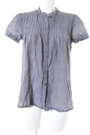 QS by s.Oliver Kurzarm-Bluse grau Casual-Look