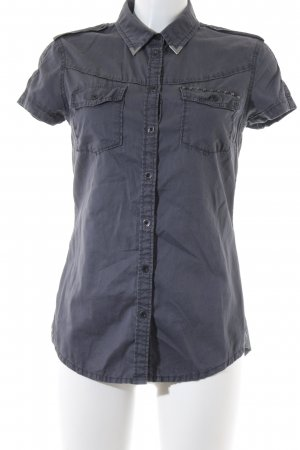 QS by s.Oliver Short Sleeve Shirt grey classic style