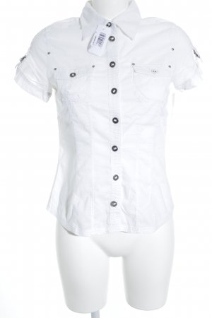 QS by s.Oliver Short Sleeve Shirt white casual look