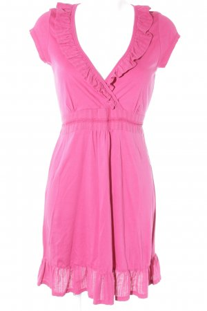 QS by s.Oliver Kurzarmkleid magenta Casual-Look
