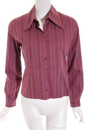 QS by s.Oliver Shirt met lange mouwen gestreept patroon casual uitstraling