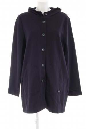 QS by s.Oliver Lange Jacke dunkelblau Casual-Look