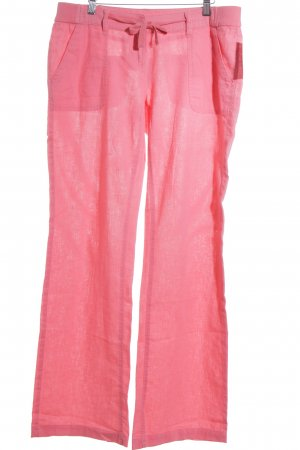 QS by s.Oliver Leinenhose magenta Beach-Look