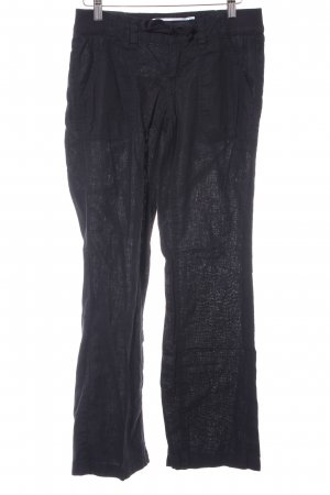 QS by s.Oliver Linen Pants black casual look