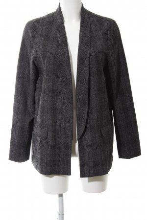 QS by s.Oliver Blazer largo negro-gris claro look casual