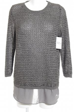 QS by s.Oliver Longpullover grau Casual-Look
