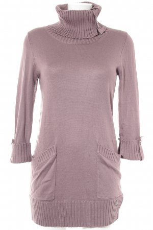 QS by s.Oliver Long Sweater grey lilac casual look