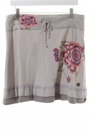 QS by s.Oliver Minirock florales Muster Beach-Look