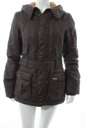 QS by s.Oliver Outdoorjacke anthrazit Casual-Look