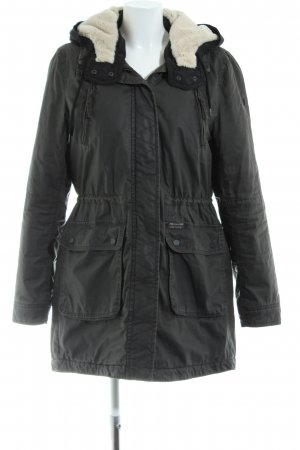 QS by s.Oliver Parka schwarz Casual-Look