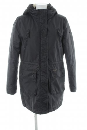 QS by s.Oliver Parka anthrazit Casual-Look