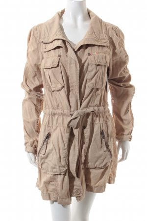 QS by s.Oliver Parka hellbeige Casual-Look