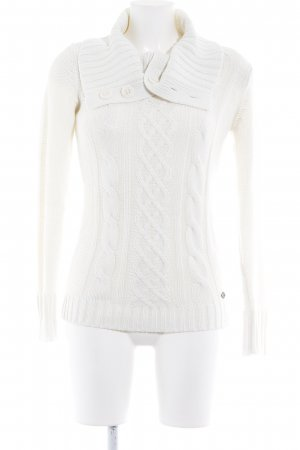 QS by s.Oliver Rollkragenpullover weiß Casual-Look