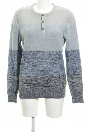 QS by s.Oliver Kraagloze sweater gestippeld casual uitstraling