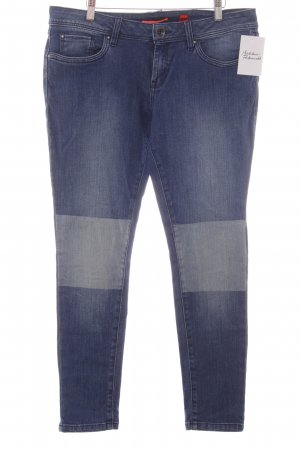 QS by s.Oliver Skinny Jeans dunkelblau-himmelblau Casual-Look