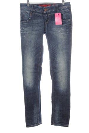 QS by s.Oliver Slim Jeans blau Farbverlauf Casual-Look