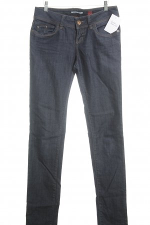 QS by s.Oliver Slim Jeans dunkelblau Casual-Look