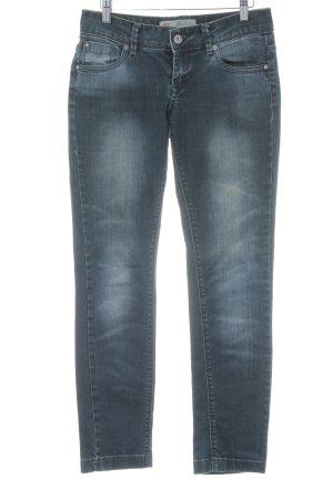 QS by s.Oliver Slim Jeans dunkelblau schlichter Stil