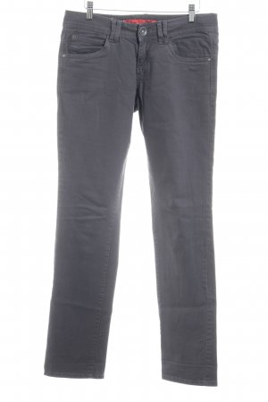 QS by s.Oliver Slim Jeans dunkelgrau Casual-Look