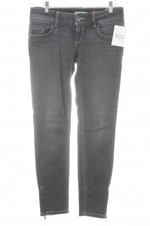 QS by s.Oliver Slim Jeans dunkelgrau Street-Fashion-Look