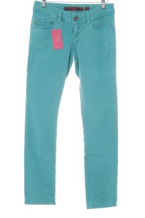 QS by s.Oliver Slim Jeans grün sportlicher Stil