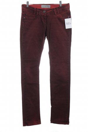 QS by s.Oliver Slim Jeans karminrot Casual-Look