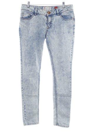 QS by s.Oliver Slim Jeans kornblumenblau 80ies-Stil