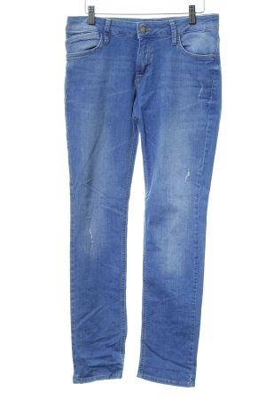 QS by s.Oliver Slim Jeans kornblumenblau Casual-Look