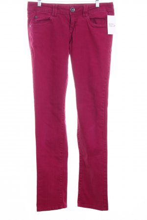 QS by s.Oliver Slim Jeans magenta Casual-Look