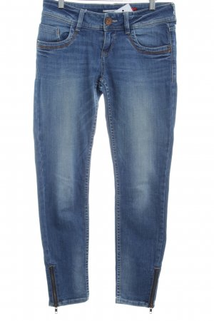 QS by s.Oliver Slim Jeans steel blue washed look