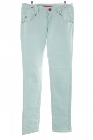 QS by s.Oliver Slim Jeans türkis Casual-Look