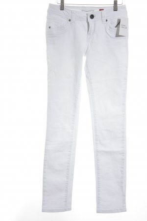 QS by s.Oliver Slim Jeans wollweiß Casual-Look
