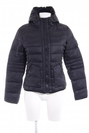 QS by s.Oliver Steppjacke schwarz Casual-Look
