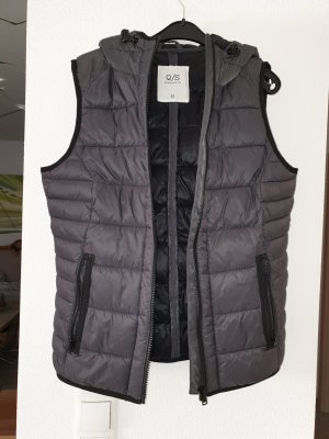 QS by s.Oliver Gewatteerd vest taupe