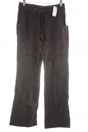 QS by s.Oliver Jersey Pants dark brown casual look