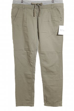 QS by s.Oliver Stoffhose khaki-grau meliert Casual-Look