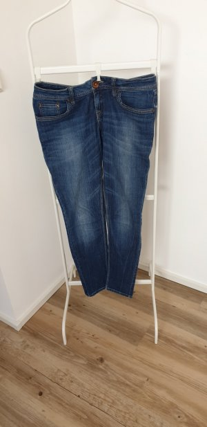 QS by s.Oliver, Straight Jeans, dunkelblau