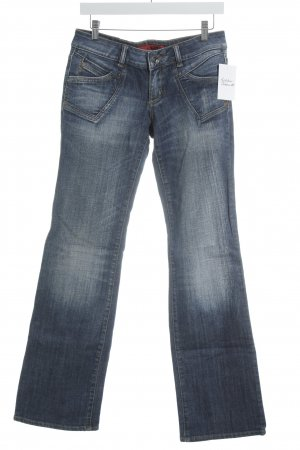 "QS by s.Oliver Straight-Leg Jeans ""Abby"" blau"