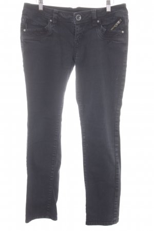 QS by s.Oliver Straight-Leg Jeans anthrazit Casual-Look