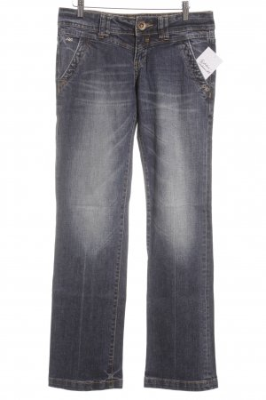 QS by s.Oliver Straight-Leg Jeans blau Casual-Look