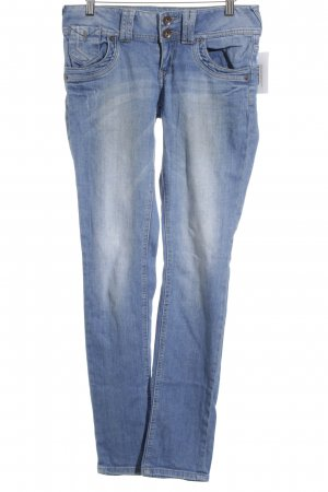 QS by s.Oliver Straight-Leg Jeans blau-graublau Casual-Look