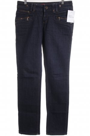 QS by s.Oliver Straight-Leg Jeans dunkelblau Casual-Look