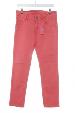 QS by s.Oliver Straight-Leg Jeans himbeerrot Casual-Look