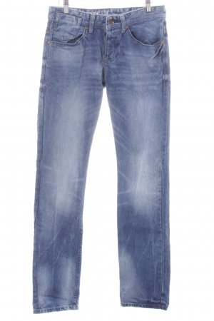 QS by s.Oliver Straight-Leg Jeans stahlblau Casual-Look
