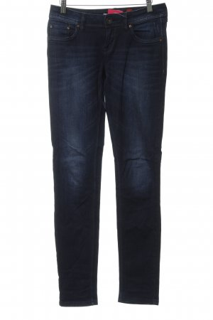 QS by s.Oliver Stretch Jeans dunkelblau Casual-Look