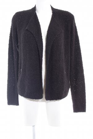QS by s.Oliver Strickjacke schwarz Casual-Look