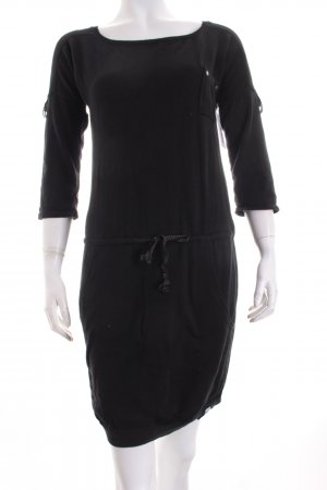 QS by s.Oliver Strickkleid schwarz Casual-Look
