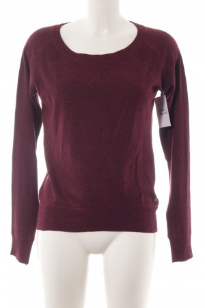 QS by s.Oliver Strickpullover braunviolett Casual-Look