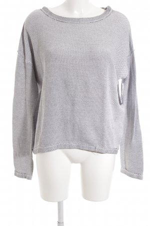 QS by s.Oliver Strickpullover silberfarben-hellgrau Casual-Look