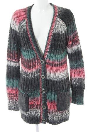 QS by s.Oliver Gilet tricoté Motif de tissage style décontracté
